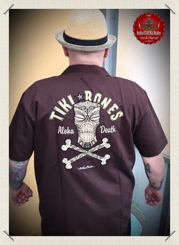 "Bowling Shirt ""Tiki Bones"""