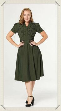Sadie Dress - Dark Green