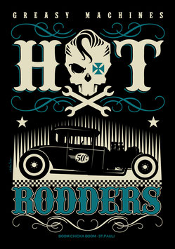 "T Shirt ""Hot Rodders"""