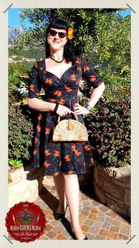 Mainline Trixie Midnight Lily Swing Dress