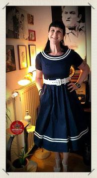 Tina Nautical 50s Sailor Swing Dress