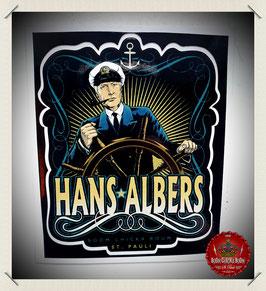 """Aufkleber """"Blonde Hans"""""""