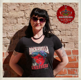 "T Shirt ""Rockabella Greasers"" Artwork Nano Barbero"