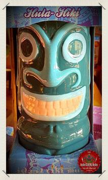 Hula-Hiki Tiki Mug blue