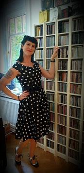 Nicky Polka Dot Swing Dress