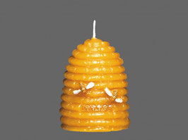 Bienenkorb- Kerze