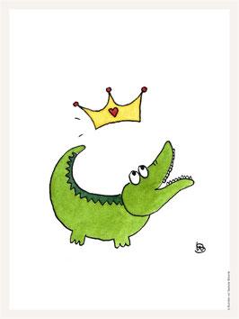 Poster 30x40 cm | Krokodil