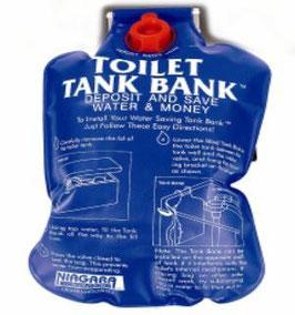 Bolsa para descargas de 5 litros en WC