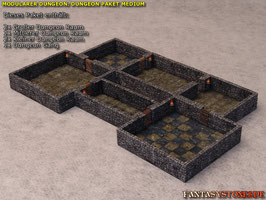 Modularer Dungeon: Dungeon Paket MEDIUM