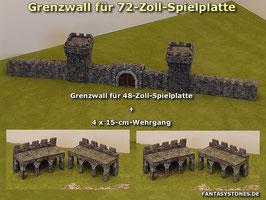 Grenzwall für 72-Zoll-Spielplatten