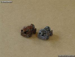 Zwei Kanonen