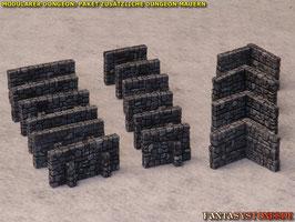 Modularer Dungeon: Zusätzliche Mauern