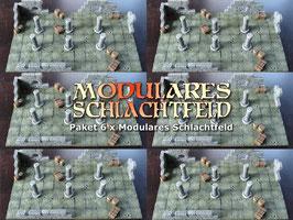 Paket 6 x Modulares Schlachtfeld