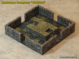 Modularer Dungeon: Podium