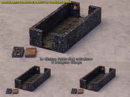 Modularer Dungeon: Paket 3 Gänge