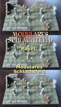 Paket 3 x Modulares Schlachtfeld