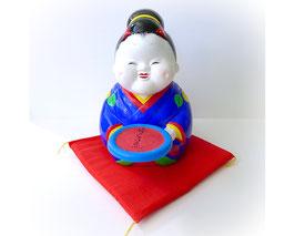 Japanse aardewerk pop