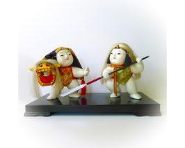 Japanse oude poppen duo