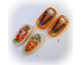 Japanse porseleinen mini slippers