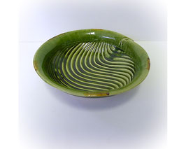 Japans aardewerken schaal