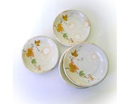 Japans aardewerken borden