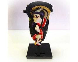 Japans hagoita ornament