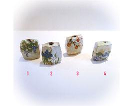 Japanse aardewerken vaasjes