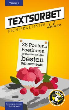 TEXTSORBET - Volume 1. Der Sammelband.