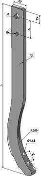 Schwergrubberstiel 840mm