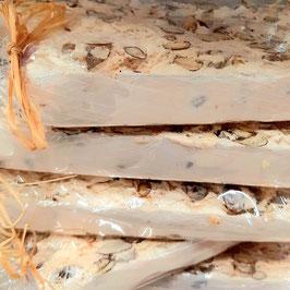 Barre de nougat mirabelle (environ 100 Gr)