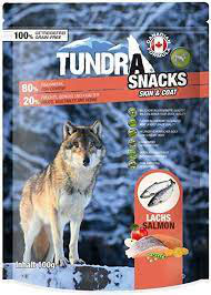 Tundra Dog Snacks / Salmon, Lachs, Skin und Coat / Haut und Fell