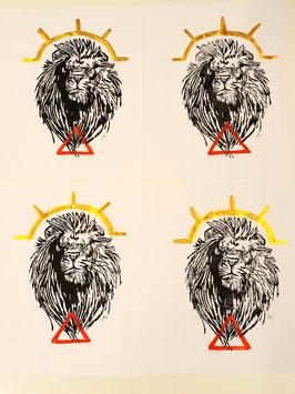 Löwe Feuer/Sonne