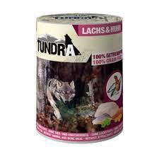 Tundra , Dog Lachs und Huhn