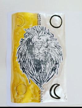 Vollmond und Leermond Löwe