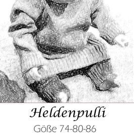 Heldenpulli   Größe 74-80-86
