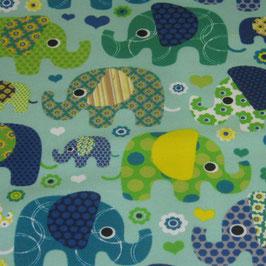 Windelfrei Slip Elefanten auf Blau Gr 110/116