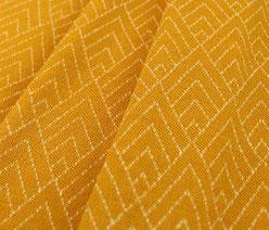 Merino Wollhose | mulesingfrei | Farbe: senfgelb mit Muster