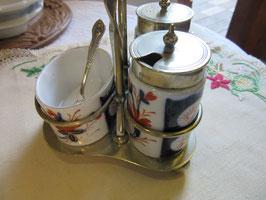 10-08  イギリス陶器調味料入れset