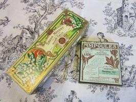 5-  34  フランス、スズランの石鹸箱とたばこ箱2set