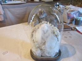 古いガラスドーム楕円 sold out