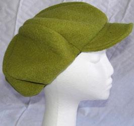warme Mütze hellgrün