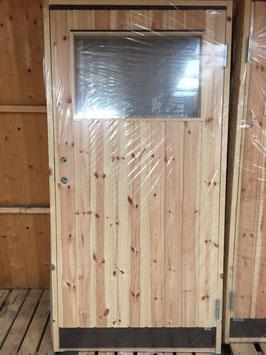 """Dörr 10x20 med fönster """"Rektangel"""""""