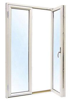 Parfönsterdörr 12x20 Helglas