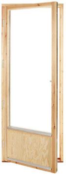 Fönsterdörr 9x20 Helglas (bild med bröstning)