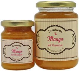 Mango mit Rosmarin  - Fruchtaufstrich
