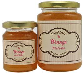 Orange nicht bitter - Fruchtaufstrich
