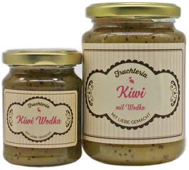 Kiwi mit Wodka - Fruchtaufstrich