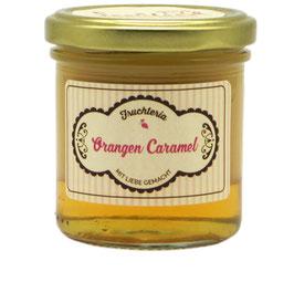 Orangen Caramel - 160 ml Glas