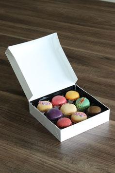 Macaron-Verpackung quadratisch