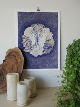 Giclée print - Medallion with Iris